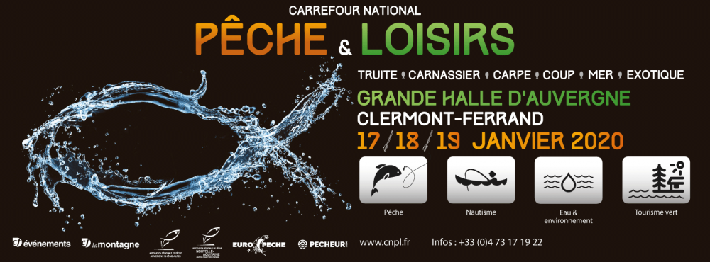 Billet d'entrée gratuite au Carrefour National de la Pêche et des Loisirs 2020